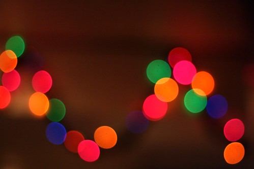holiday bokeh at hibachi