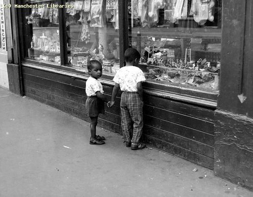 Denmark Road Toy Shop, Moss Side, 1962