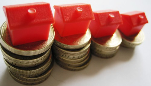 Housing Market and pound coins