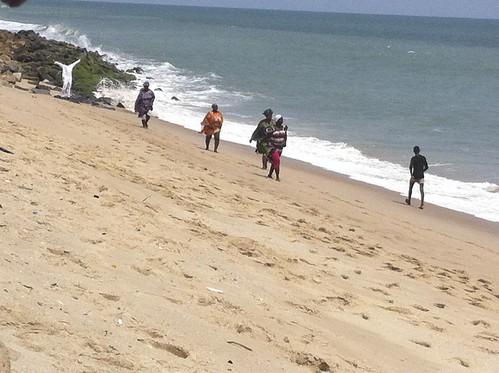 Gospel & Exercise on Kuramo Beach, Lagos State Nigeria. Gospelcise by Jujufilms