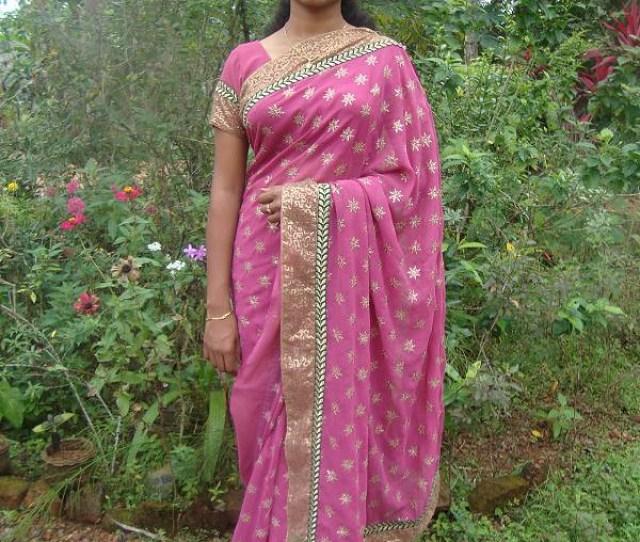 Best Reallife Rose Saree