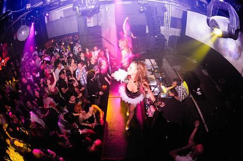 Dance Wallpaper 3d Tokyo Party Time Vodkatronic Dj Set Warehouse