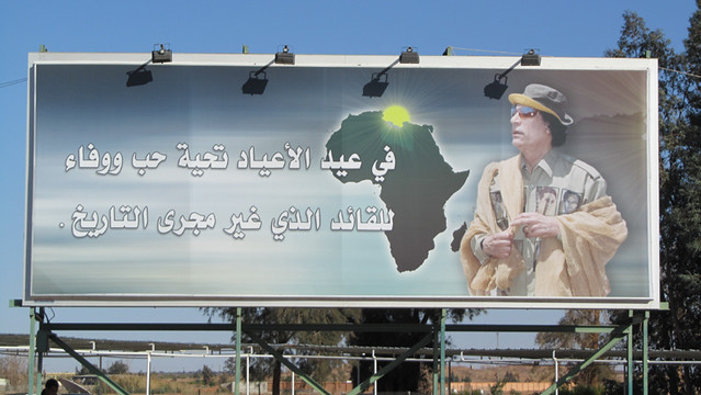 Libye 2011 - Aéroport de Sebha