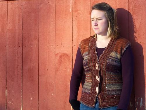 vest buttoned