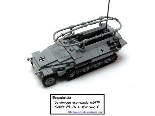 SdKfz 251/6 de Panzerbricks