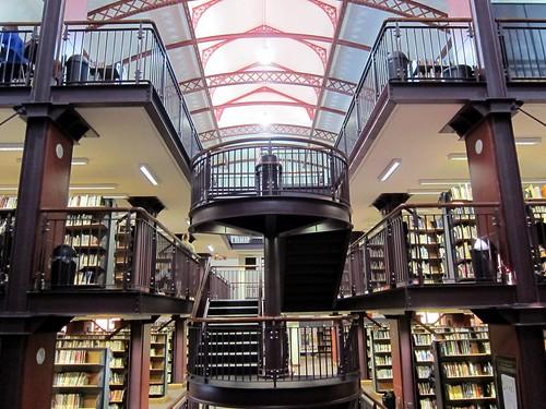1730 Cape Town public library interior