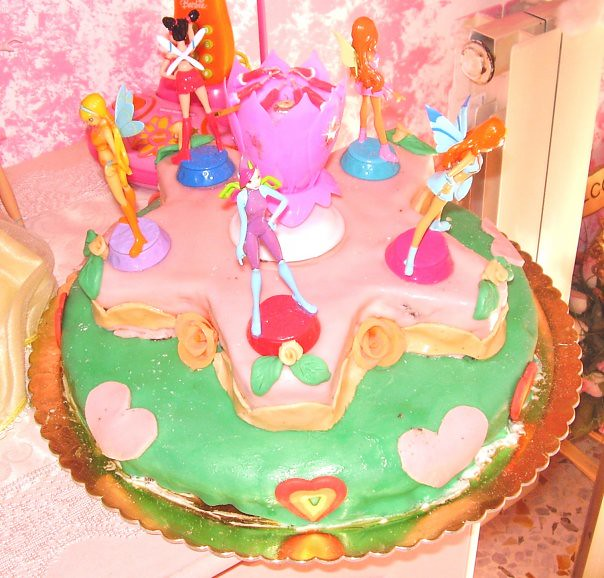 Torta compleanno winx  Flickr  Photo Sharing
