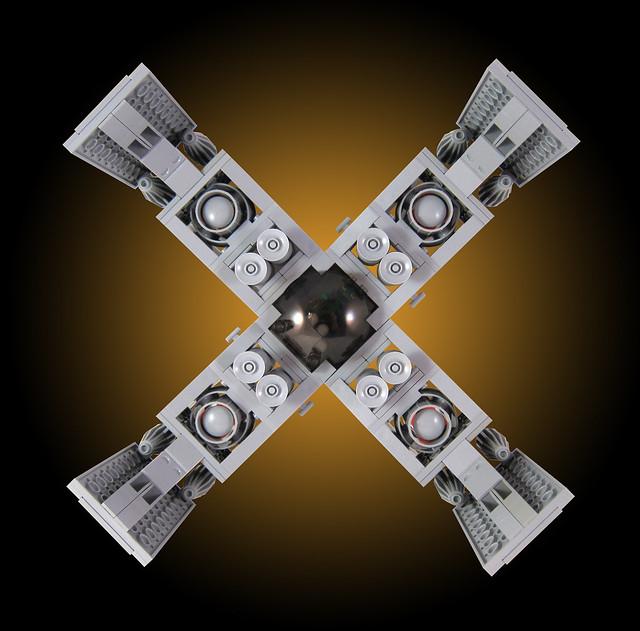 MOC-031 LEGO X Spaceship