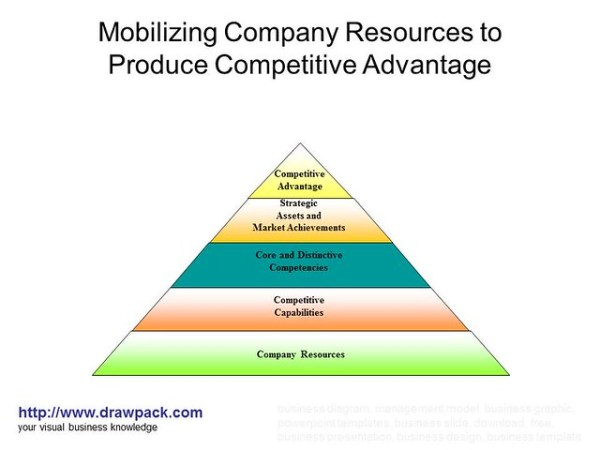 Mobilizing Company Resources to Produce Competitive