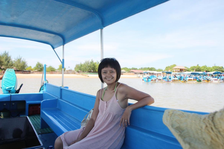 boat ride back to benoa