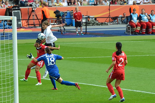 Germany vs. Canada first goal (Garefrekes)