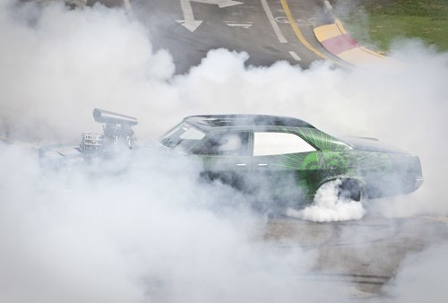 Burnout at the Clipsal 500