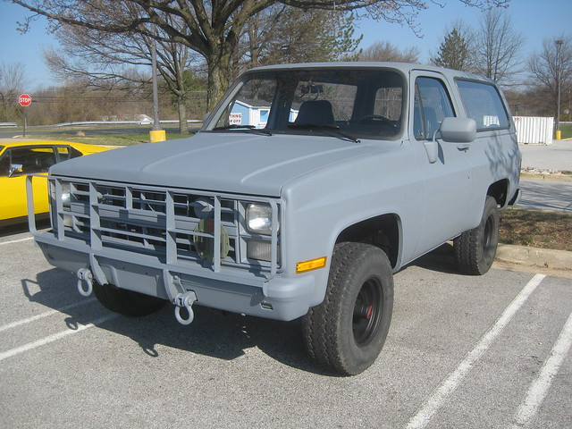 Chevrolet K5 Blazer M Cucv