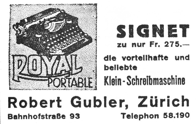 Flickriver: Photoset 'Royal typewriter ads' by shordzi