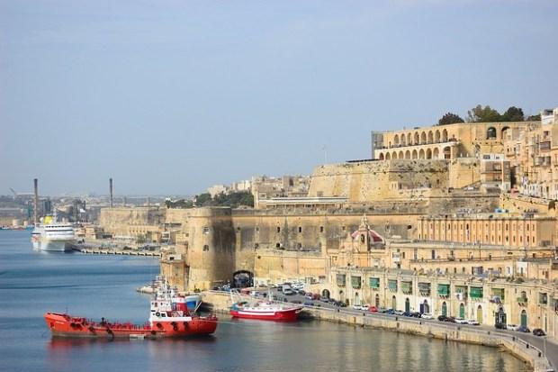View from Lower Barrakka Gardens | Exploring Valletta, Malta | No Apathy Allowed
