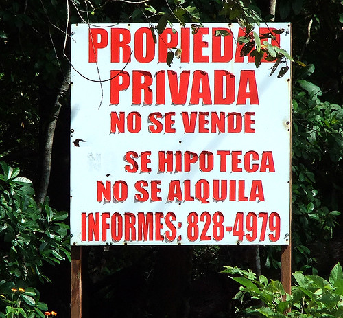 sign: No Se Vende