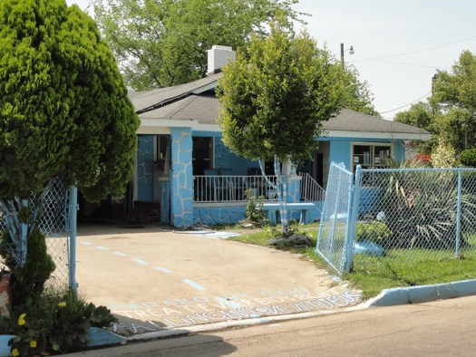 Blue House In Clarksdale