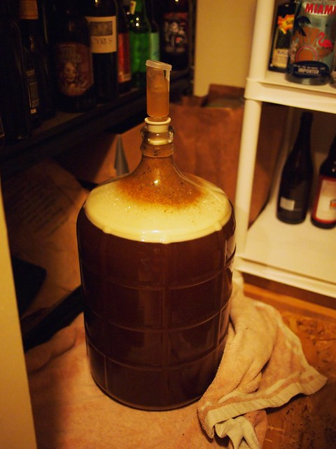 Fermentation - 15 hour mark (1st homebrew)