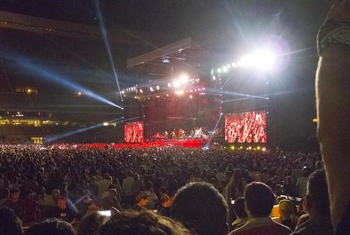Estadio de La Cartuja, Bruce Springsteen 2012