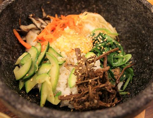Dolsot Bibimbap at Sariwon Korean Barbecue - 2