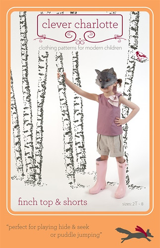Finch Top & Shorts Sewing Pattern