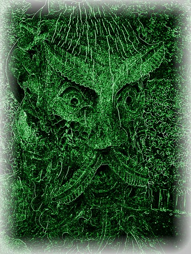 The Green Man by deadheaduk