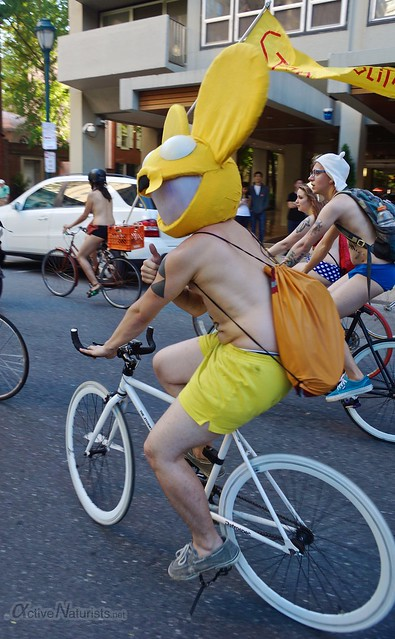 naturist 0094 Philly Naked Bike Ride, Philadelphia, PA USA