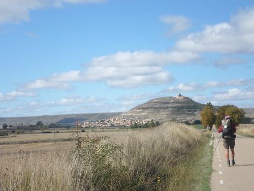 Approaching Castrojeriz