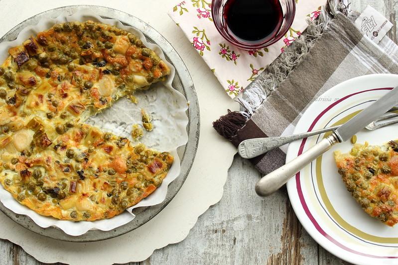 Frittata al forno con verdure di stagione