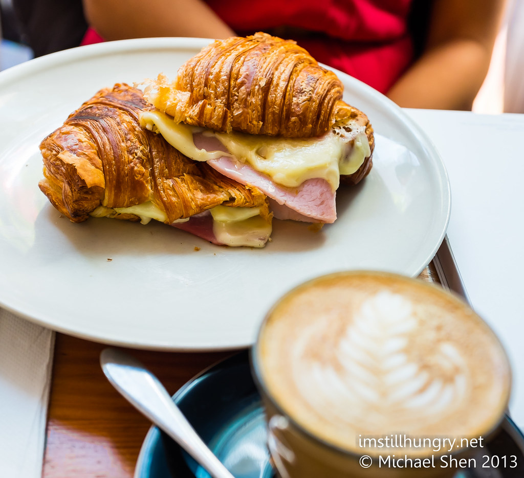 Ham & cheese croissant palomino espresso