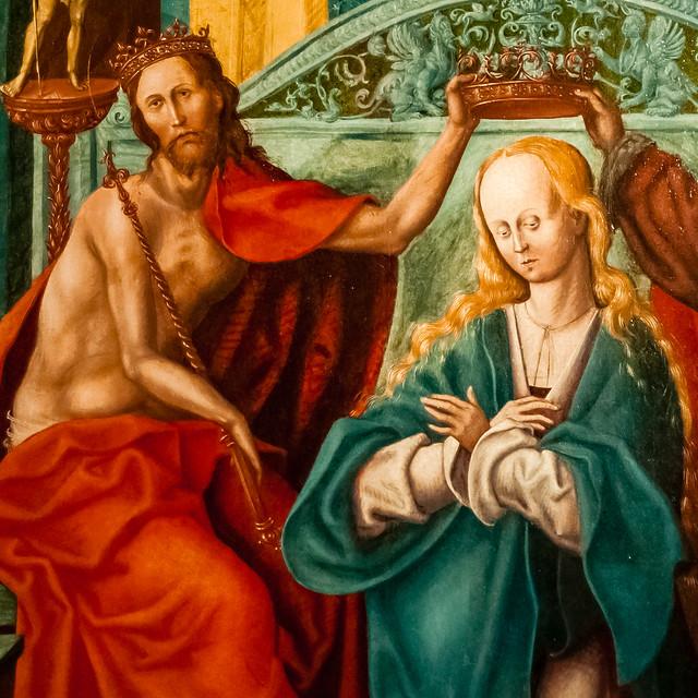 Le Couronnement  de la Vierge, Anvers?, Lille, France, Le Palais Des Beaux Arts
