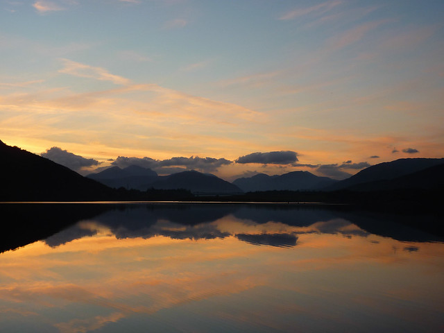 Sunset, Loch Leven, Scotland