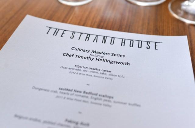 hollingsworth menu