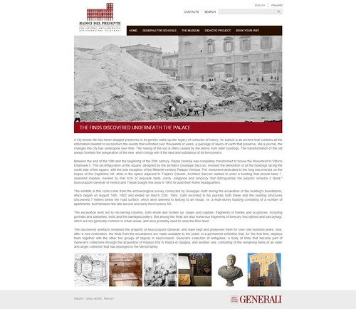 ROME ARCHAEOLOGY & CULTURAL HERITAGE: ROME - THE ASSICURAZIONI GENERALI PALACE IN PIAZZA VENEZIA, EXCAVATIONS AND CONSTRUCTION (1902-07) (Update - Italiano / English [06/2013]). by Martin G. Conde