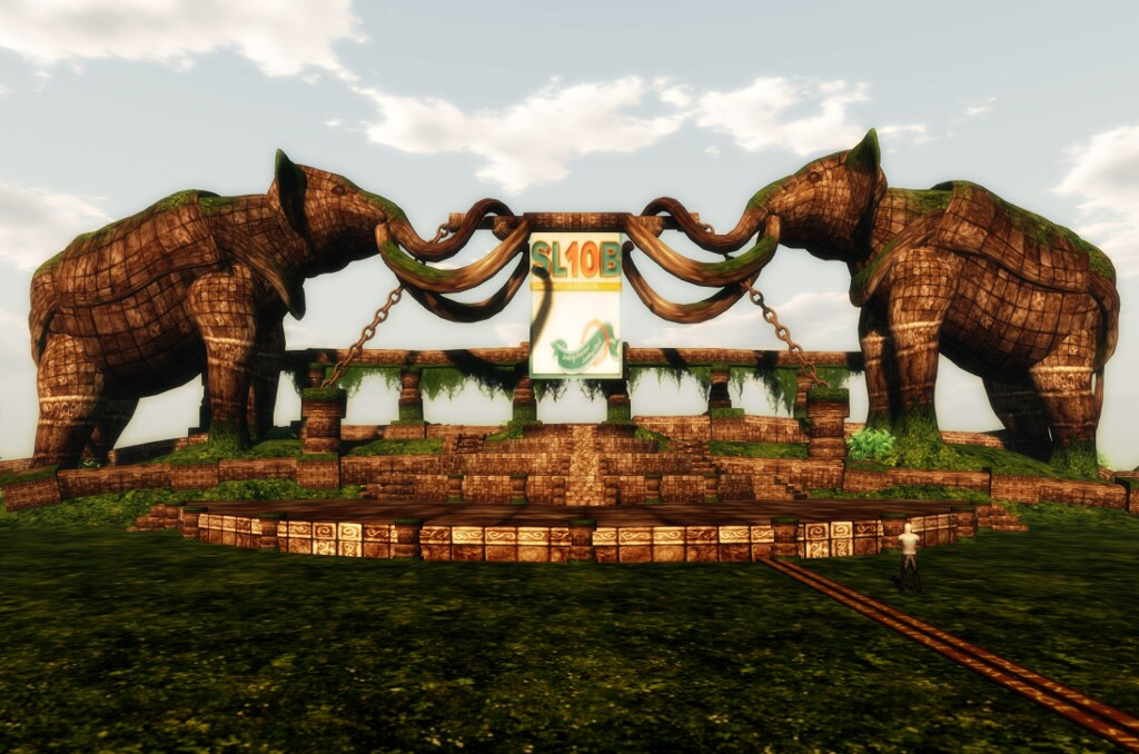 A closer look on the elephants on the Turtle Island: one of the SL10BCC stages