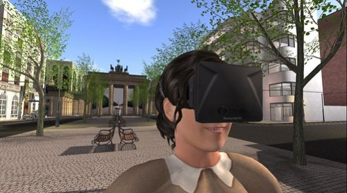 My avatar has Oculus Rift before I do!