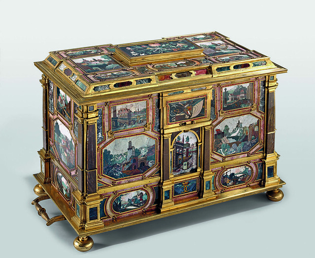Pietra Dura Ornate Chest