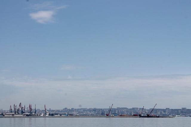 Baku shoreline