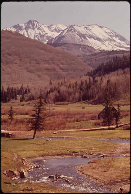 Mt. Wilson and West Dolores River, 05/1972.
