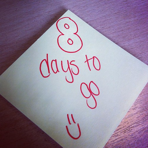 8 days to go #birthday #dontforget