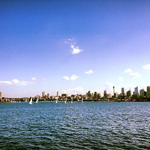 Sailboats in #sydney by @MySoDotCom