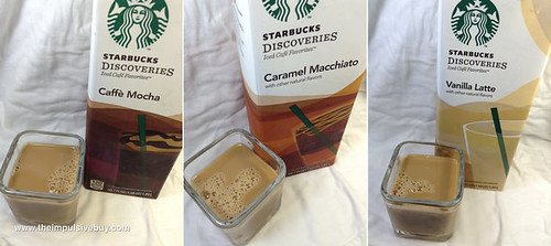Starbucks Discoveries Closeup
