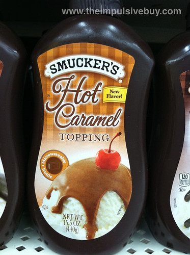 Smucker's Microwaveable Hot Caramel Topping