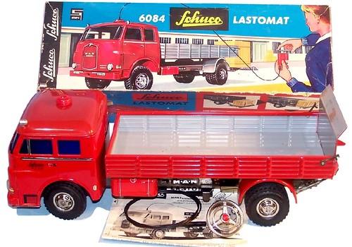 19 Schuco MAN Diesel Lastomat