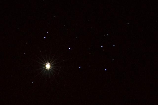 Venus Pleiades M45 April 3 2012 2