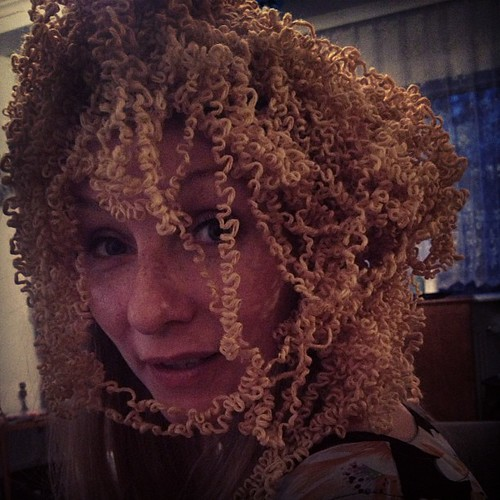 Yarn hair!