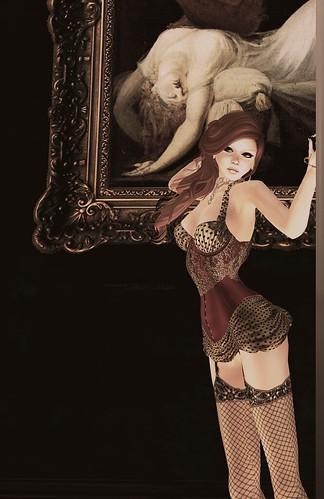 Burlesque corset
