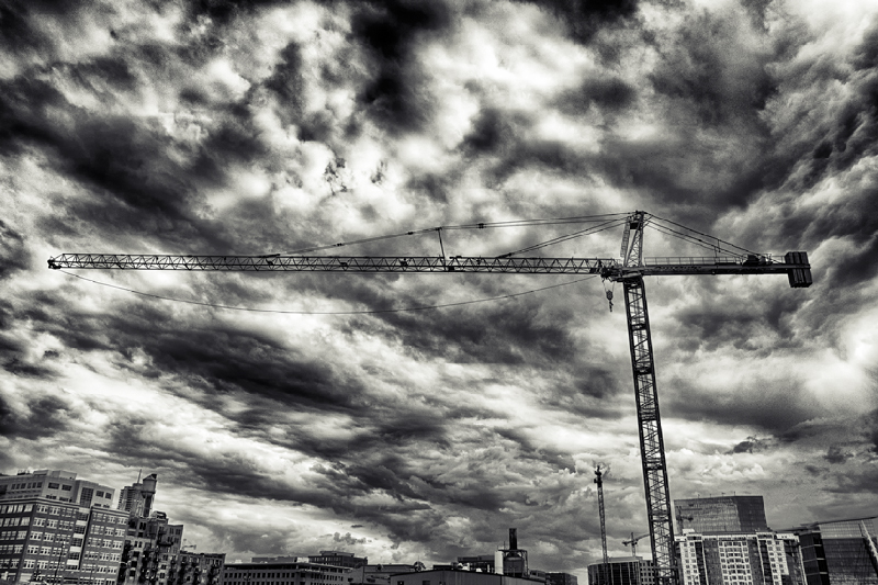 King Soopers crane
