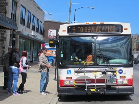 Southbound Ashland bus