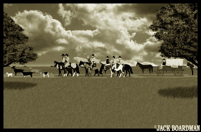 The terrain turned slowly to prairie ©2012 Jack Boardman